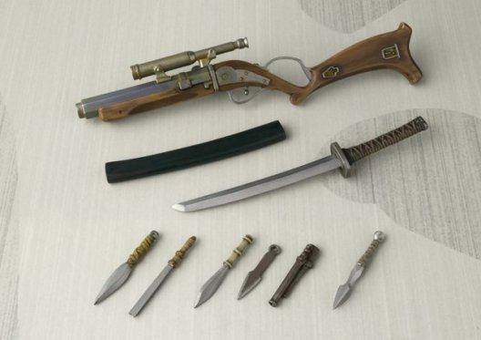 Ronin Boba Fett -accessories