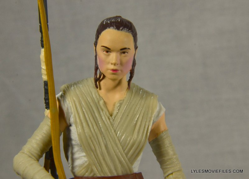 Star Wars Black Series Force Awakens Rey and BB-8 -close up