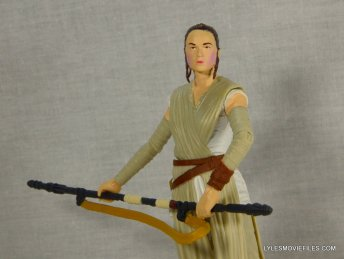 Star Wars Black Series Force Awakens Rey and BB-8 -holding staff