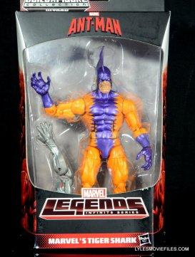 Tiger Shark Marvel Legends figure review - front package