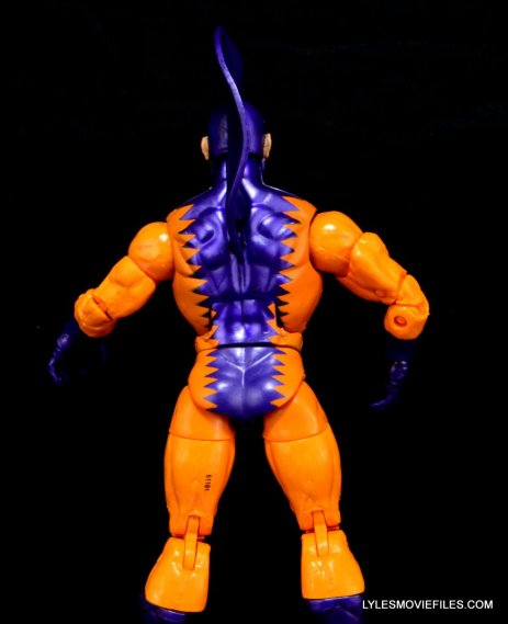 Tiger Shark Marvel Legends - rear shot