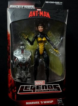 Wasp Marvel Legends figure review -front package