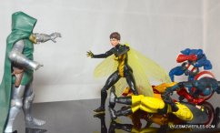Wasp Marvel Legends figure review -Wasp vs Dr Doom