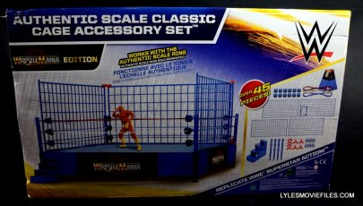 Wicked Cool Toys authentic classic cage -back package