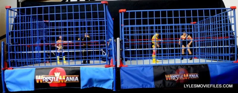Wicked Cool Toys authentic classic cage - Jakks cage and WCT cage comparison