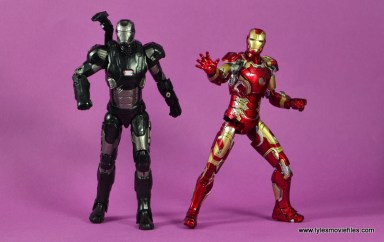 Marvel Legends Age of Ultron War Machine figure review - ready to fight with Iron Man