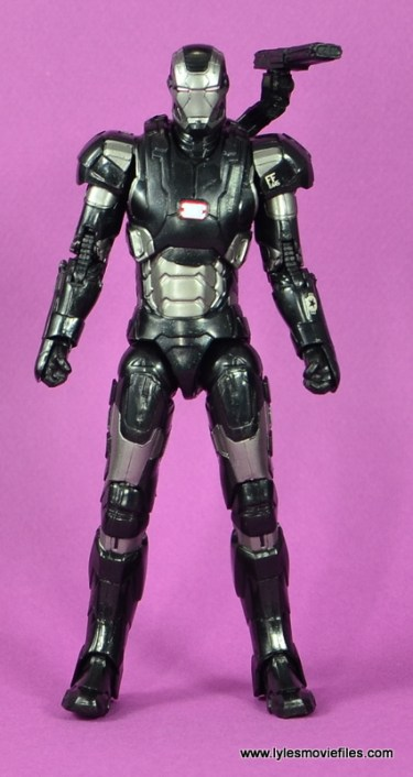 Marvel Legends Age of Ultron War Machine figure review - straight