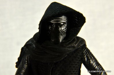 Kylo Ren Force Awakens Star Wars Black Series -right side