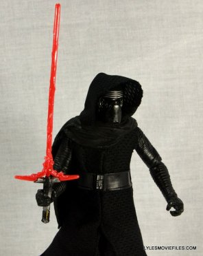 Kylo Ren Force Awakens Star Wars Black Series -standing side