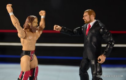 Mattel WWE Battle Pack - Triple H vs Daniel Bryan -Daniel Bryan Yes to Triple H