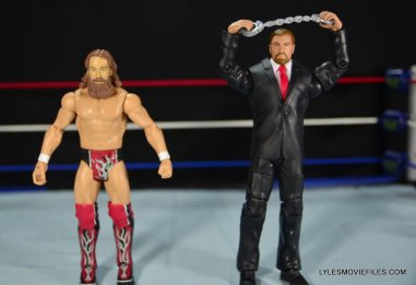 Mattel WWE Battle Pack - Triple H vs Daniel Bryan -front view