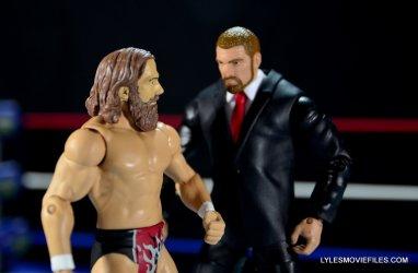 Mattel WWE Battle Pack - Triple H vs Daniel Bryan -intimidation