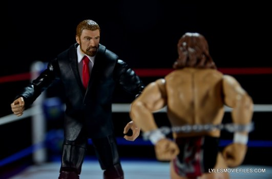 Mattel WWE Battle Pack - Triple H vs Daniel Bryan -Triple H coming to attack