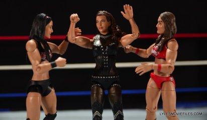 Mattel WWE Elite 37 Stephanie McMahon -caught between Brie and Nikki Bella