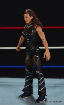 Mattel WWE Elite 37 Stephanie McMahon -left side detail