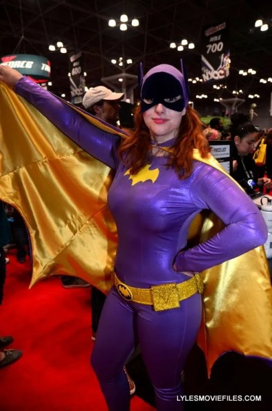 New York Comic Con 2015 cosplay -1966 Batgirl
