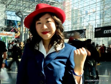 New York Comic Con 2015 cosplay -Agent Carter