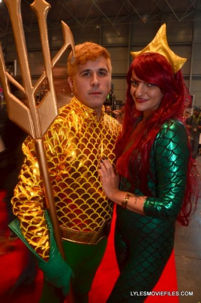 New York Comic Con 2015 cosplay - Aquaman and Mera