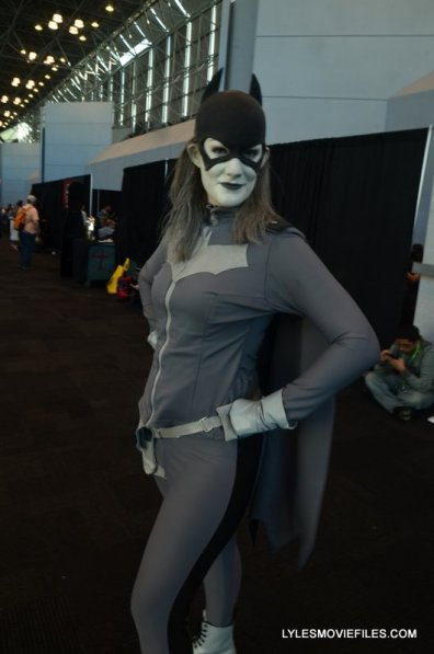 New York Comic Con 2015 cosplay - Batgirl black and white