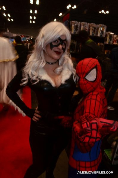 New York Comic Con 2015 cosplay - Black Cat and Spider-Man