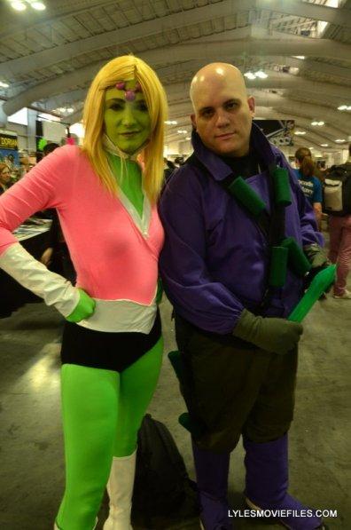 New York Comic Con 2015 cosplay - Brainiac and Lex Luthor