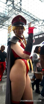 New York Comic Con 2015 cosplay - Cammy Bison
