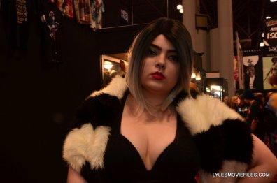 New York Comic Con 2015 cosplay - Cruella de Ville 2