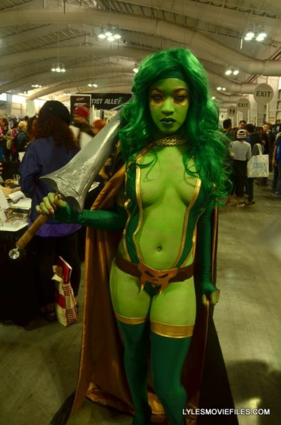 New York Comic Con 2015 cosplay - Gamora