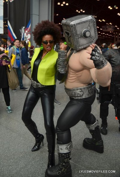 New York Comic Con 2015 cosplay - Helvetika Bold and The Mindset