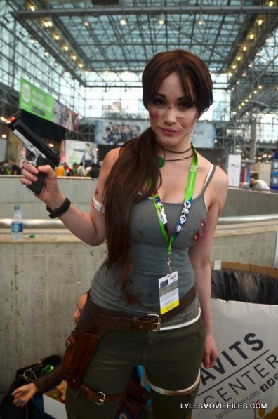 New York Comic Con 2015 cosplay -Mega Watt as Lara Croft