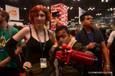 New York Comic Con 2015 cosplay - Metal Gear Meryl and Big Boss