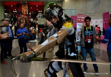 New York Comic Con 2015 cosplay - Metal Gear Solid 2 Raiden