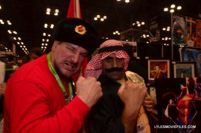 New York Comic Con 2015 cosplay -Nikolai Volkoff and Iron Sheik