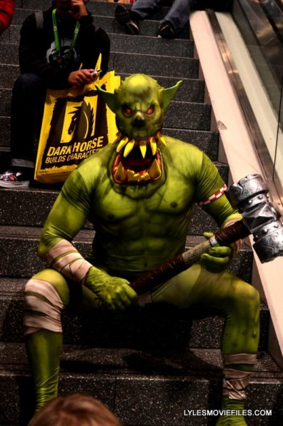 New York Comic Con 2015 cosplay - Ogre