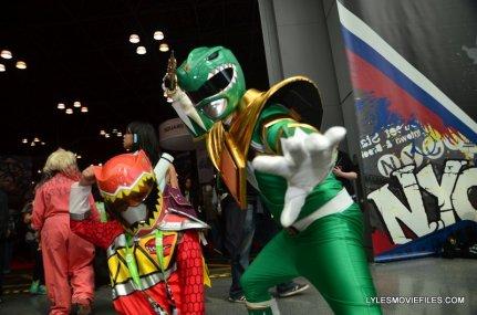 New York Comic Con 2015 cosplay - Power Rangers