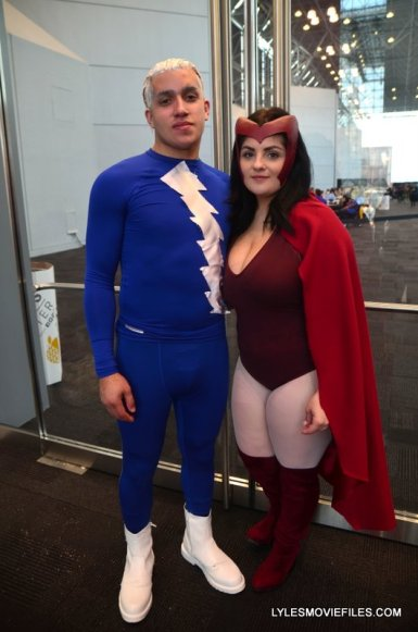 New York Comic Con 2015 cosplay - Quicksilver and Scarlet Witch