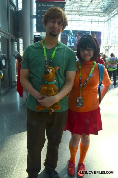 New York Comic Con 2015 cosplay - Shaggy, Scooby and Velma