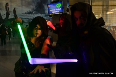 New York Comic Con 2015 cosplay - Star Wars Jedi and Sith