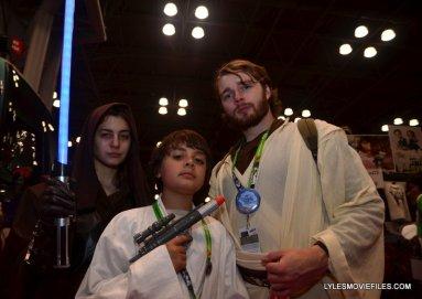 New York Comic Con 2015 cosplay -Star Wars Jedi, Luke and Obi-Wan Kenobi