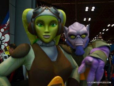 New York Comic Con 2015 cosplay - Studio Fractal Vera and Zeb