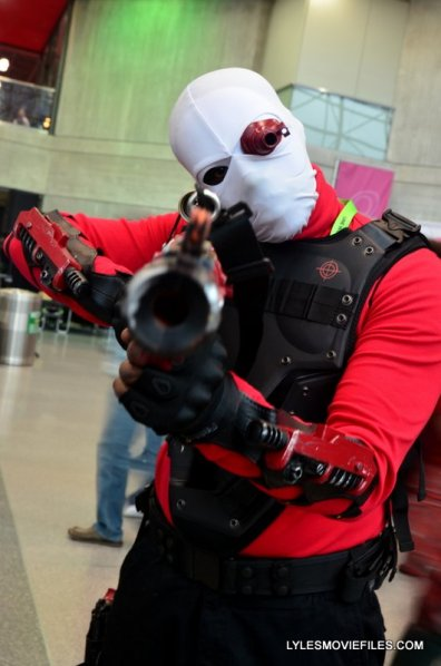 New York Comic Con 2015 cosplay -Suicide Squad Deadshot