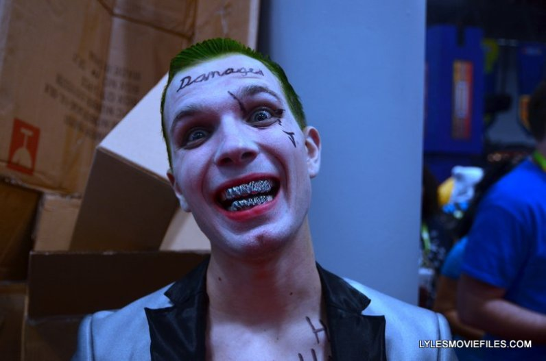 New York Comic Con 2015 cosplay -Suicide Squad Joker