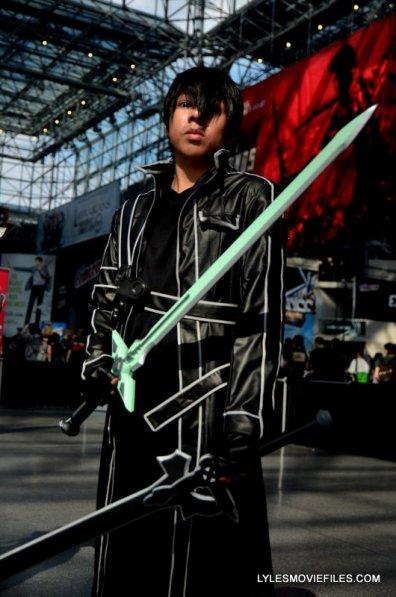 New York Comic Con 2015 cosplay - swordsman