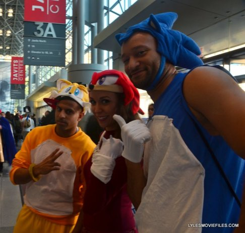 New York Comic Con 2015 cosplay -Tails and Sonic