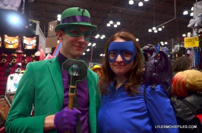 New York Comic Con 2015 cosplay - The Riddler and Shadowcat