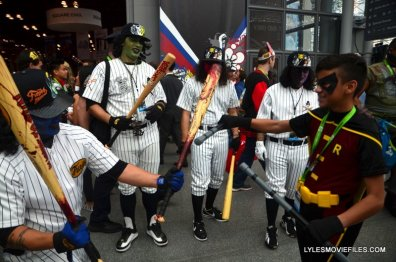 New York Comic Con 2015 cosplay - The Warriors vs Robin