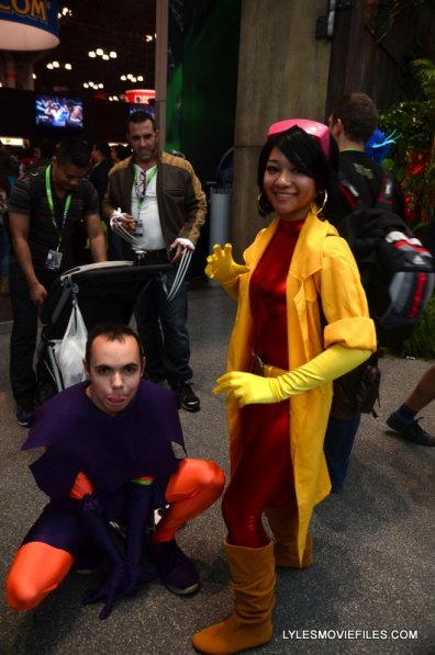 New York Comic Con 2015 cosplay - Toad and Jubilee