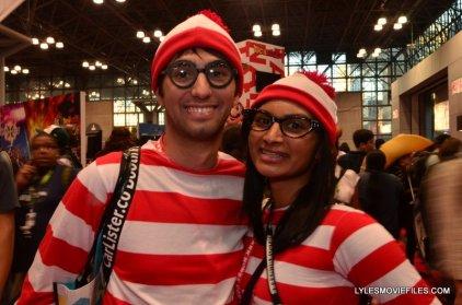 New York Comic Con 2015 cosplay - Where's Waldo couple