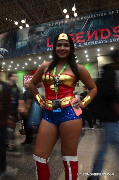 New York Comic Con 2015 cosplay -Wonder Woman