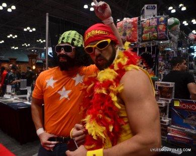 New York Comic Con 2015 cosplay - WWE Macho Man Randy Savage and Hulk Hogan